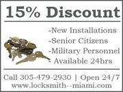 24 Hour Locksmith in Miami,FL
