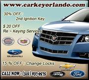 Car Keys Locksmith in Orlando,FL